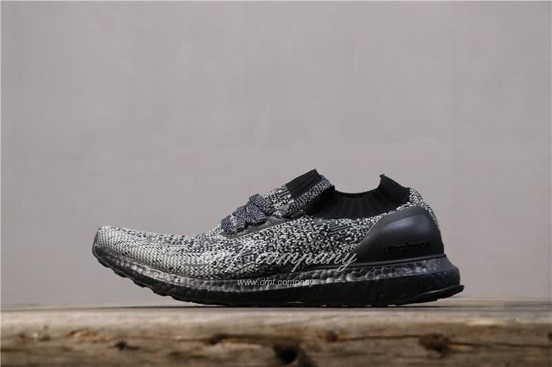 Adidas Ultra Boost Uncaged Men White Black Shoes  2