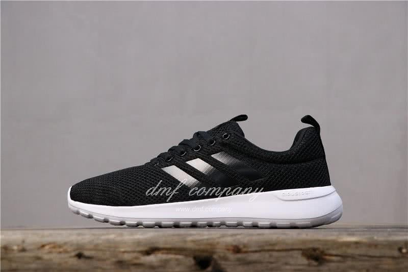Adidas NEO LITE RACER CLN Shoes Black Men/Women 1