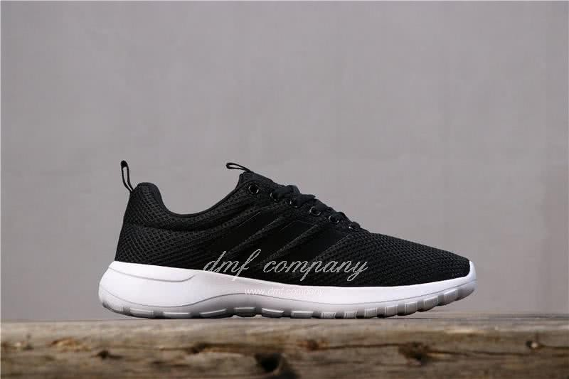 Adidas NEO LITE RACER CLN Shoes Black Men/Women 2
