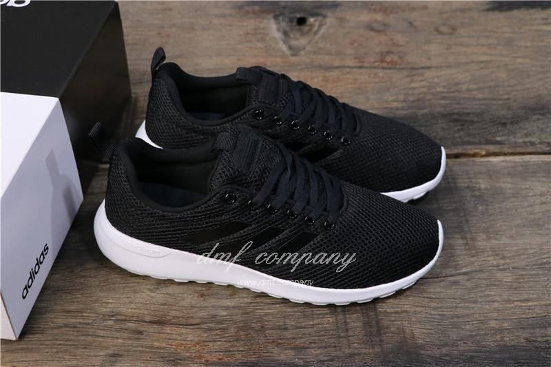 Adidas NEO LITE RACER CLN Shoes Black Men/Women 7