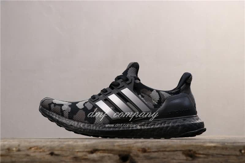 Adidas Ultra Boost 4.0 Black Men Women Shoes 2
