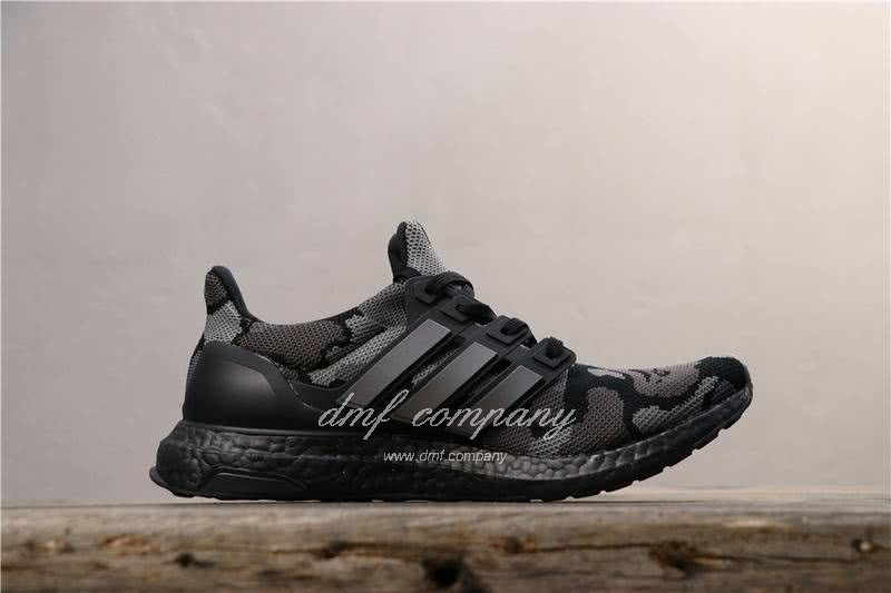 Adidas Ultra Boost 4.0 Black Men Women Shoes 3