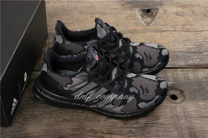 Adidas Ultra Boost 4.0 Black Men Women Shoes 1