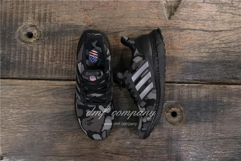 Adidas Ultra Boost 4.0 Black Men Women Shoes 7