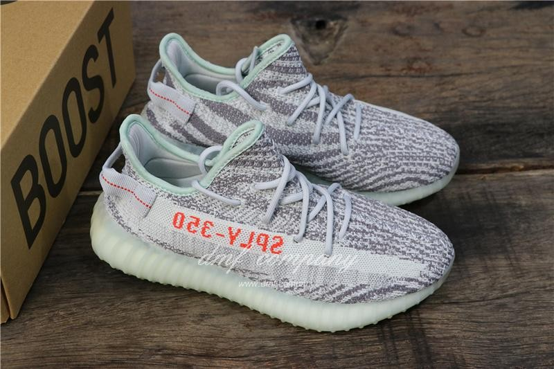 Adidas Yeezy Boost 350 V2 Shoes Blue White Men/Women 7