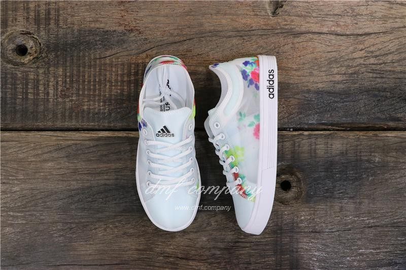 Adidas DAILY TEAM Neo Shoes White Women 8