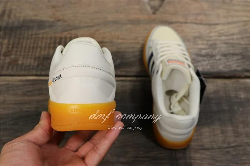 Adidas CF ALL COURT MID Shoes White Men 4