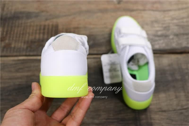 Adidas SLEEK S Women White Green Shoes 5