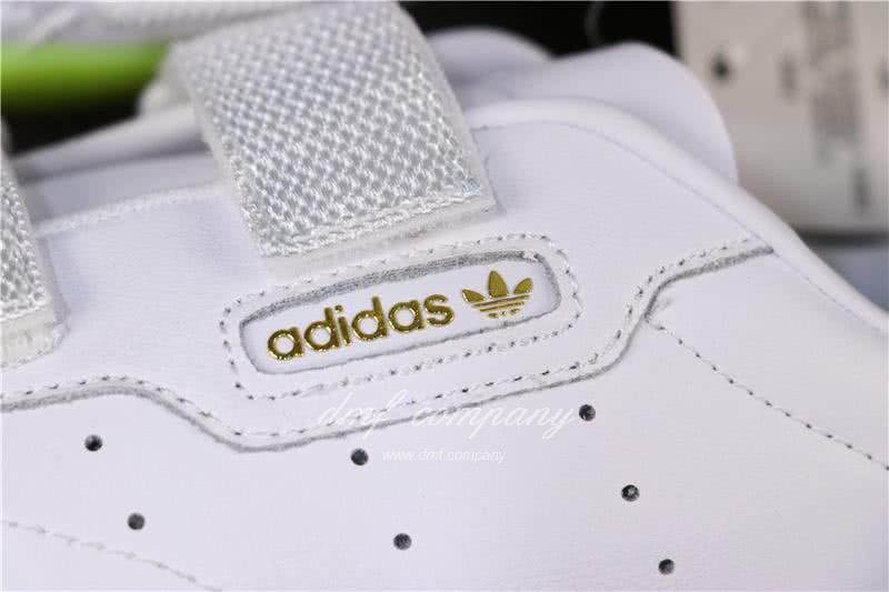 Adidas SLEEK S Women White Green Shoes 7