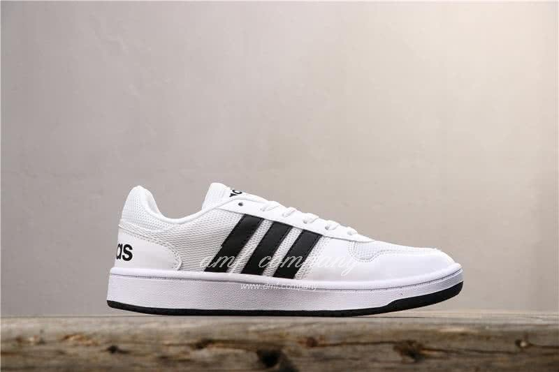 Adidas NEO HOOPS 2.0 Shoes White Men/Women 2