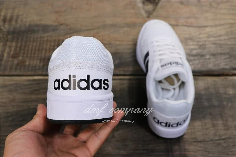 Adidas NEO HOOPS 2.0 Shoes White Men/Women 4