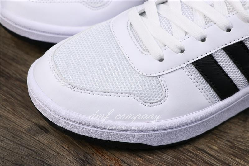 Adidas NEO HOOPS 2.0 Shoes White Men/Women 5