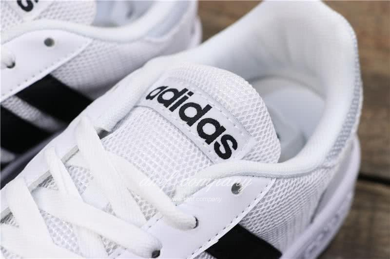 Adidas NEO HOOPS 2.0 Shoes White Men/Women 6
