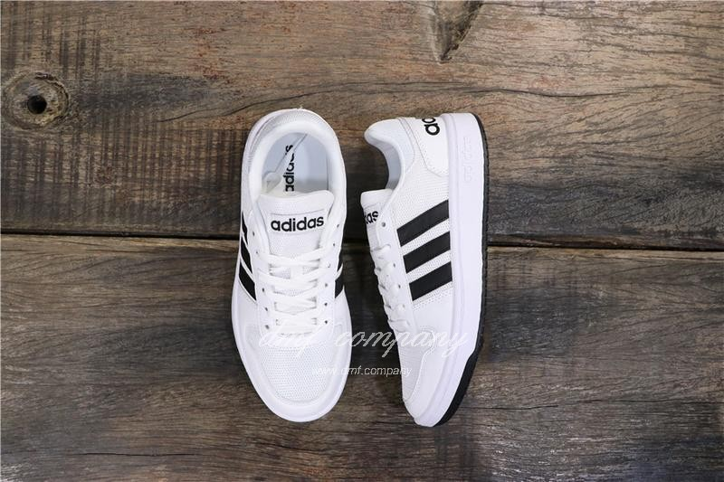 Adidas NEO HOOPS 2.0 Shoes White Men/Women 8