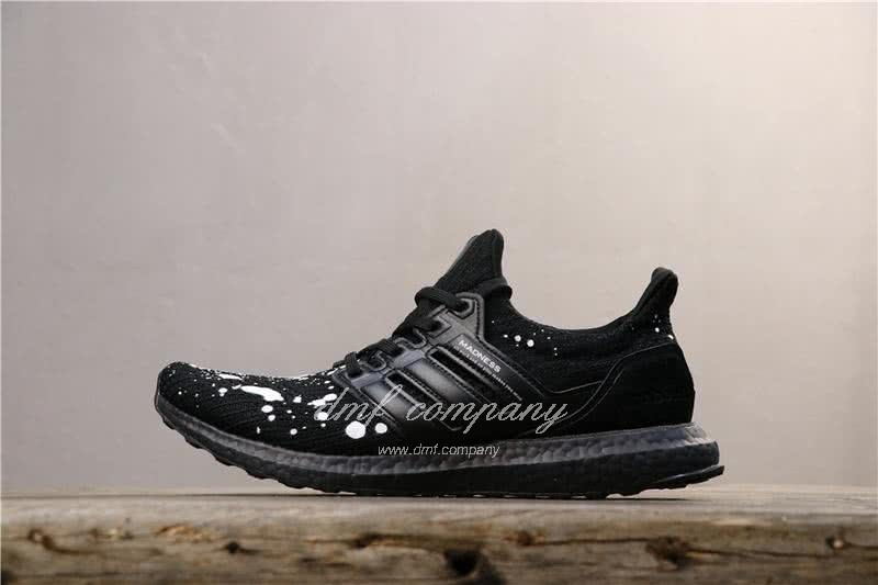 Adidas UltraBoost x Madness Men Black White Shoes 2
