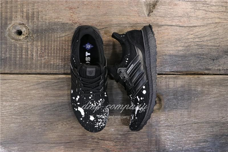Adidas UltraBoost x Madness Men Black White Shoes 1