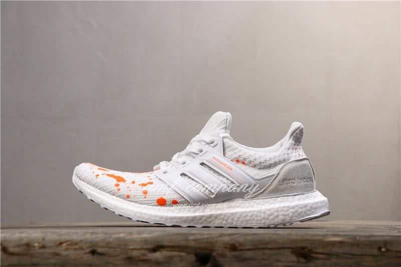 Adidas UltraBoost x Madness Men Orange White Shoes 2