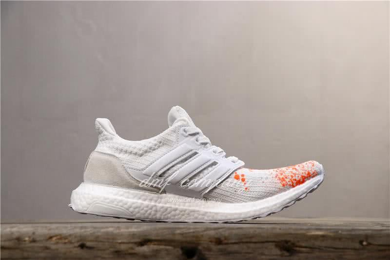 Adidas UltraBoost x Madness Men Orange White Shoes 3