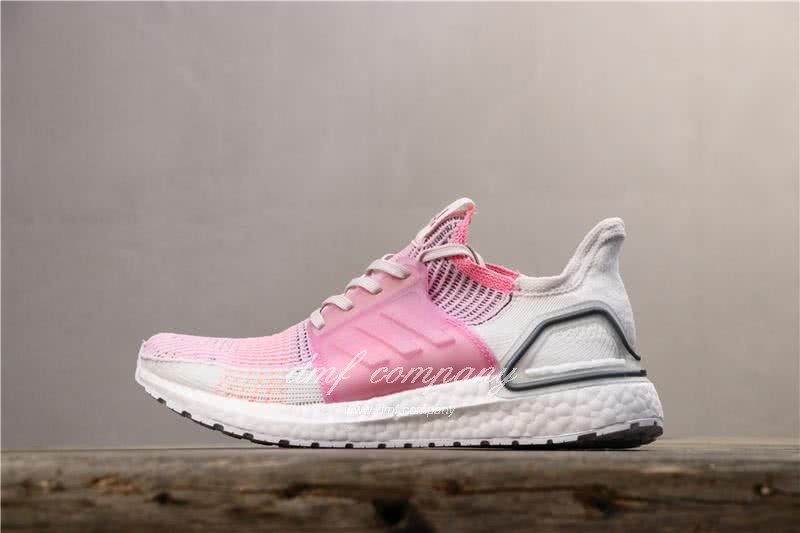 Adidas Ultra BOOST 19W UB19 Women Pink White Shoes 3