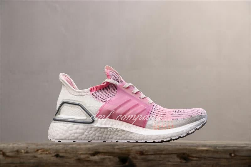 Adidas Ultra BOOST 19W UB19 Women Pink White Shoes 4