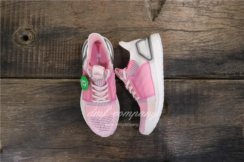 Adidas Ultra BOOST 19W UB19 Women Pink White Shoes 1