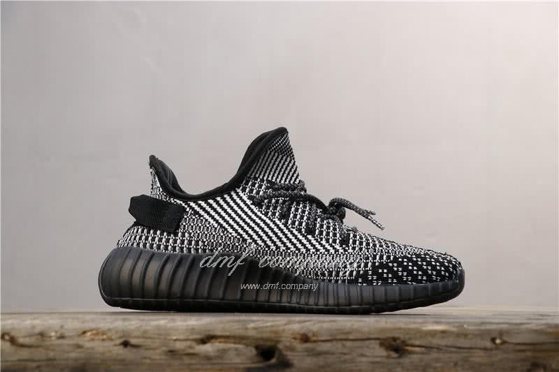 Adidas Yeezy Boost 350 V2 Men Women Black Static Reflective Shoes 2