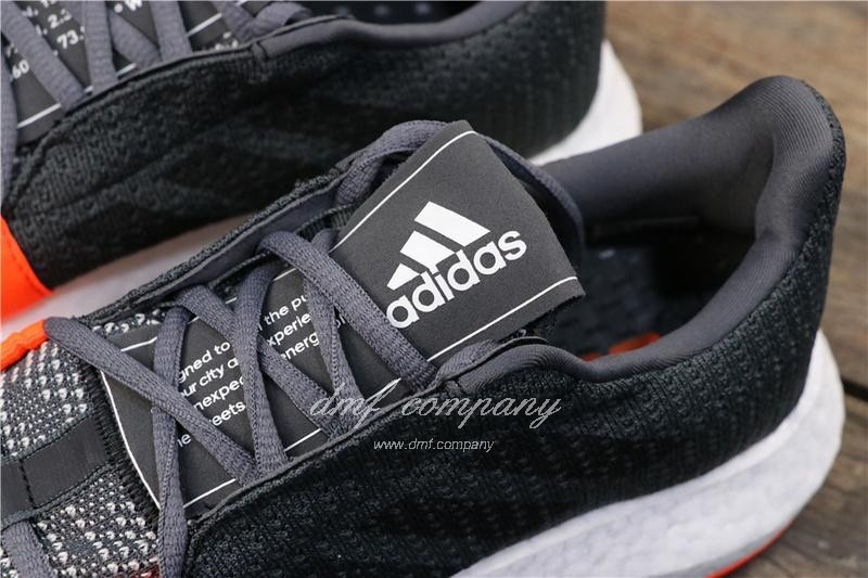 Adidas Sense Boost GO Men Women Black Grey Shoes 7