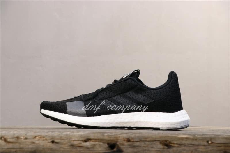 Adidas Sense Boost GO Men Women Black Shoes 2
