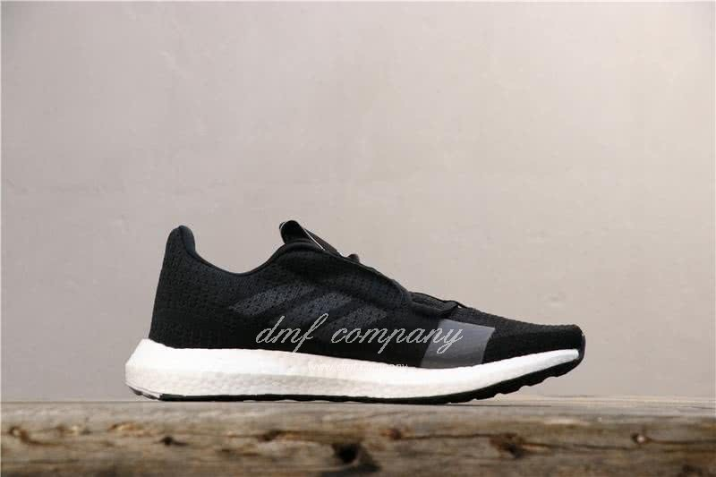 Adidas Sense Boost GO Men Women Black Shoes 3