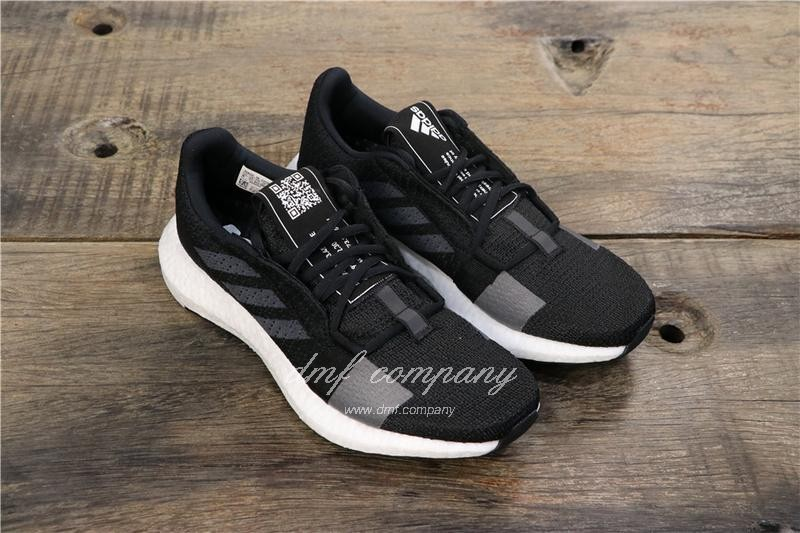 Adidas Sense Boost GO Men Women Black Shoes 1