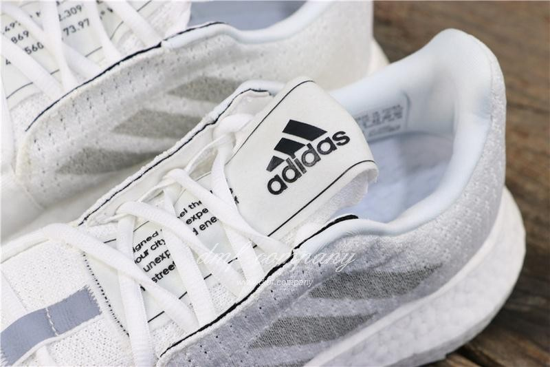 Adidas Sense Boost GO Men White Shoes 7