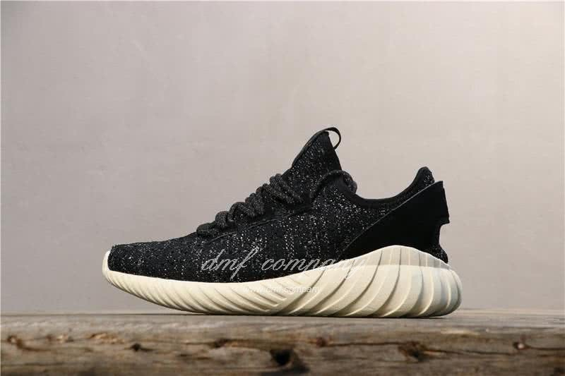 Adidas Tubular Doom Sock Pk Shoes Black/White Women/Men 1