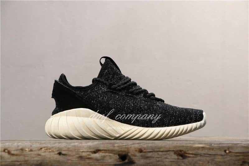 Adidas Tubular Doom Sock Pk Shoes Black/White Women/Men 2