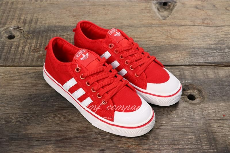 Adidas NIZZA Shoes Red Men/Women 7