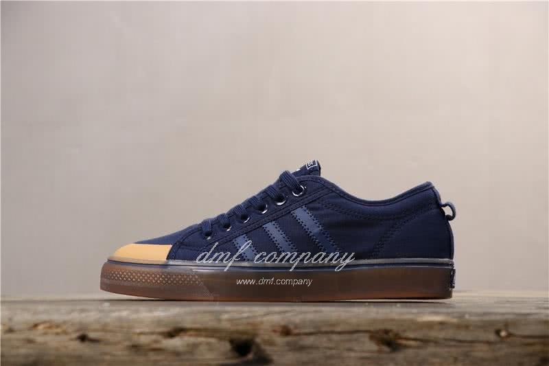 Adidas NIZZA LO Shoes Blue Men/Women 1