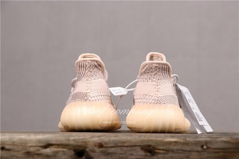 Adidas Yeezy Boost 350 V2 Women Men Pink Static Shoes 3
