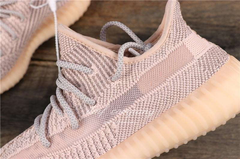 Adidas Yeezy Boost 350 V2 Women Men Pink Static Shoes 6