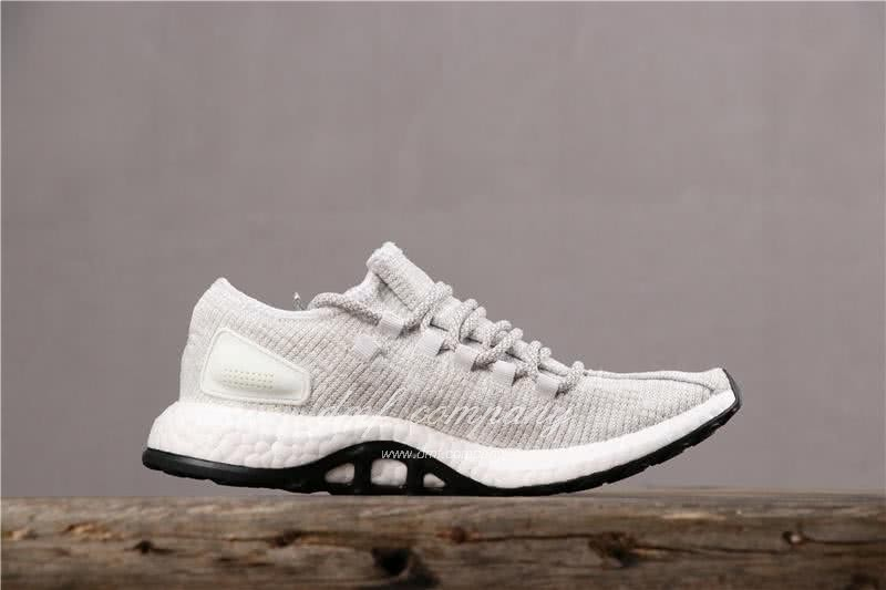 Adidas Pure Boost Men Women White Shoes 3