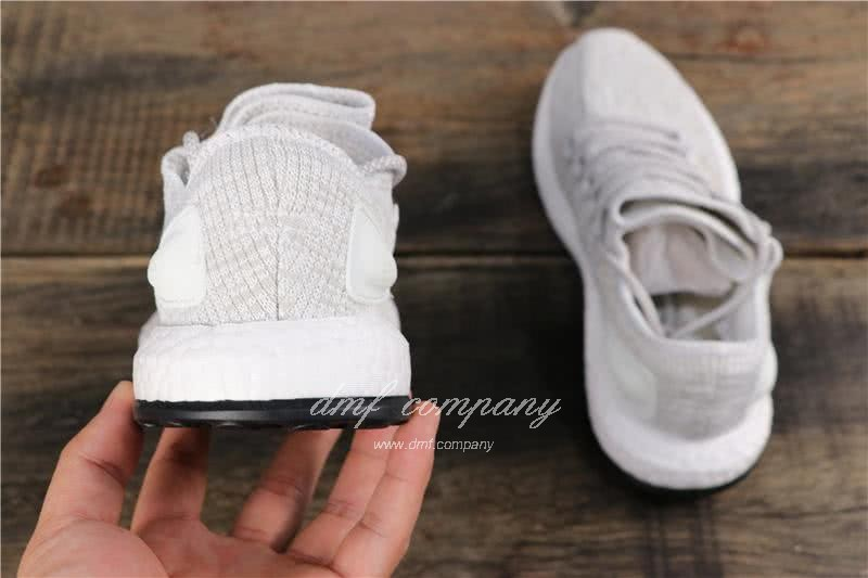 Adidas Pure Boost Men Women White Shoes 5
