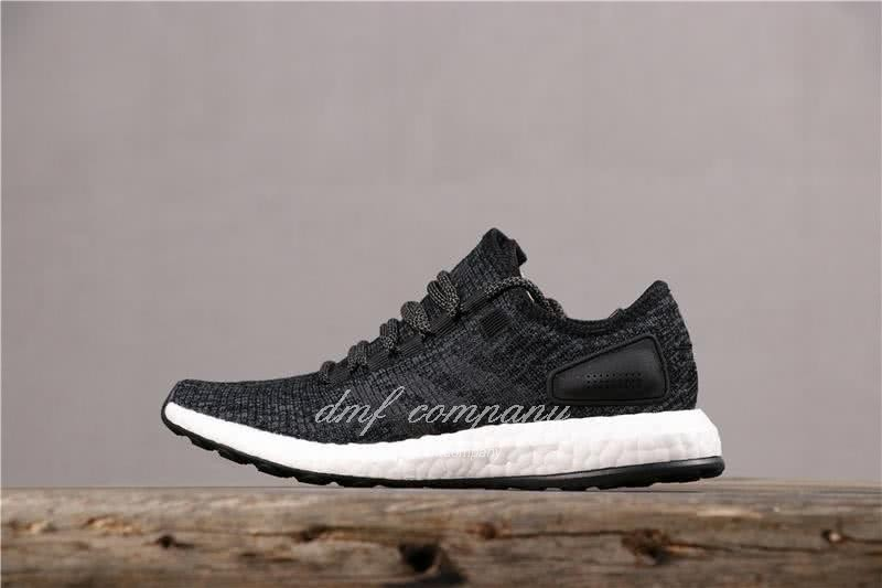 Adidas Pure Boost Men Women Black Shoes 2