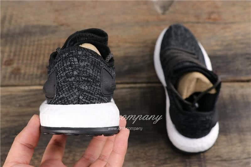 Adidas Pure Boost Men Women Black Shoes 5