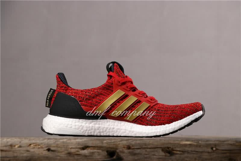 Adidas Ultra Boost x GOT Men Red Shoes 3