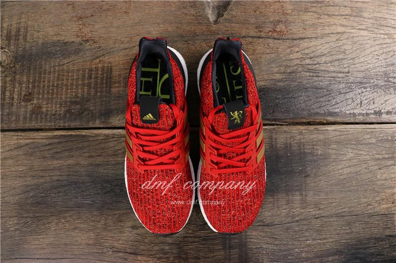 Adidas Ultra Boost x GOT Men Red Shoes 8