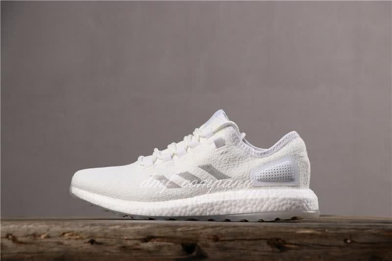 adidas Pure Boost S.E UB Men Women White Shoes 2