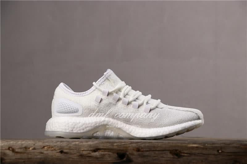 adidas Pure Boost S.E UB Men Women White Shoes 3