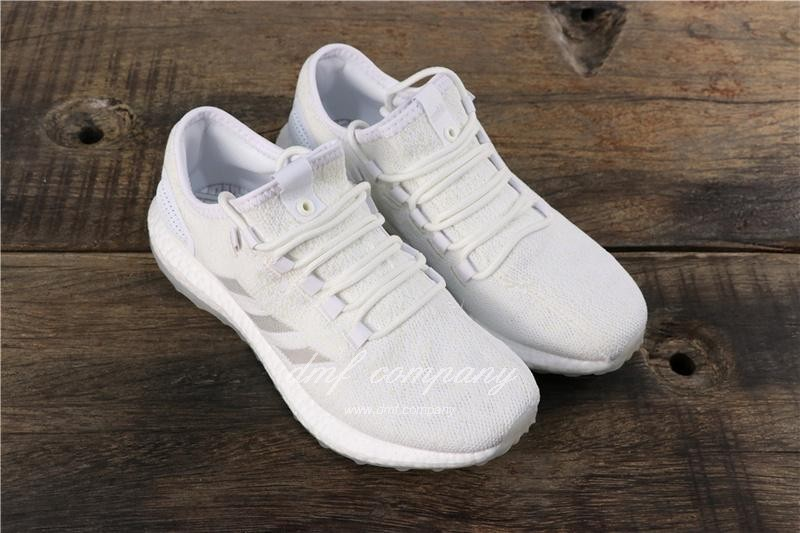 adidas Pure Boost S.E UB Men Women White Shoes 1