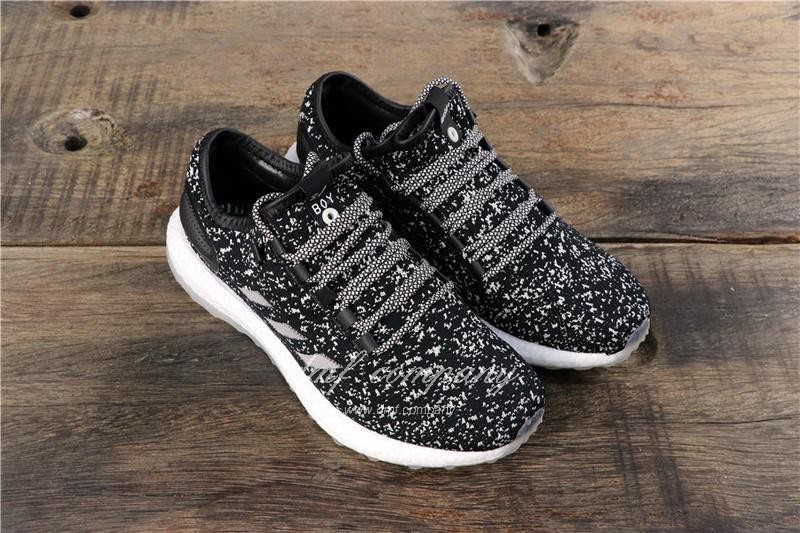 adidas Pure Boost S.E UB Men Women Black Shoes 1