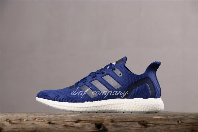 Adidas Ultra Boost 19 Women Men Blue Shoes 2
