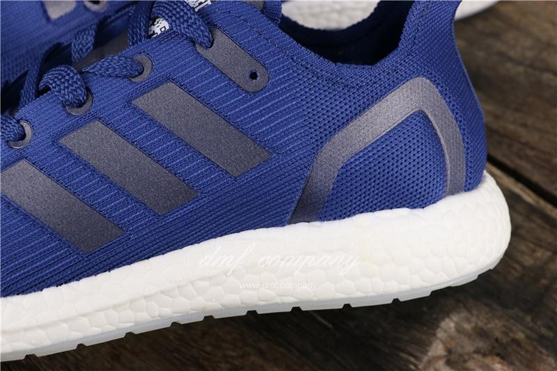 Adidas Ultra Boost 19 Women Men Blue Shoes 7