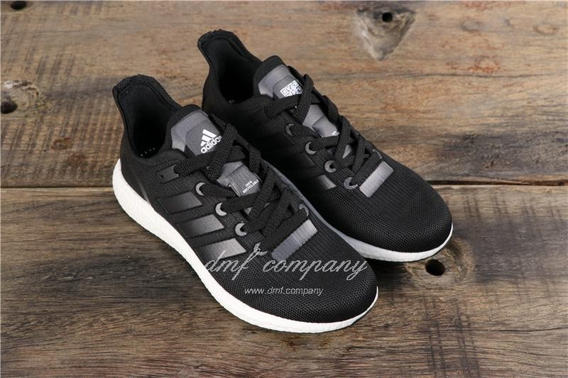 Adidas Ultra Boost 19  Men Women Black Shoes 1
